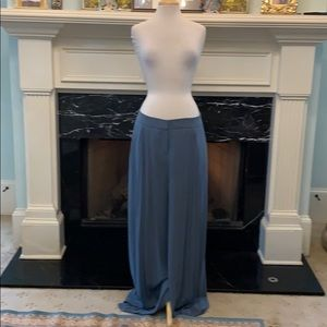 NWT Lauren Conrad blue pallazo pants